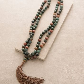 High-Energy Bloodstone Mala