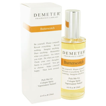 Demeter by Demeter Butterscotch Cologne Spray 4 oz