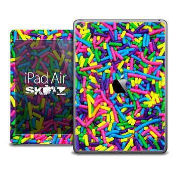 The Neon Sprinkles Skin for the iPad Air