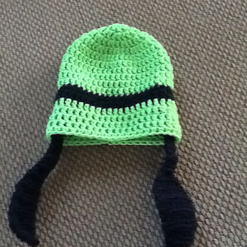 Goofy Crochet Beanie - all sizes - made to order