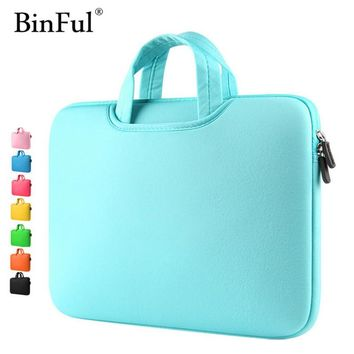 Multicolor Soft Laptop Sleeve 11 13 15 15.6 inch Laptop Bag Case