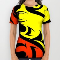 Graphic Design All Over Print Shirt by Robleedesigns