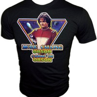 Vintage Mork Calling Orson  Mindy Robin Williams GAH suit T-Shirt