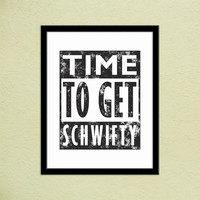 Rick and Morty Get Schwifty Lyrics Print | It's Time To Get Schwifty Poster | Gifts for Geeks | Adult Swim Print | Wall Office Decor | Black