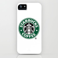 Starbucks Coffee iPhone & iPod Case by Kai Gee