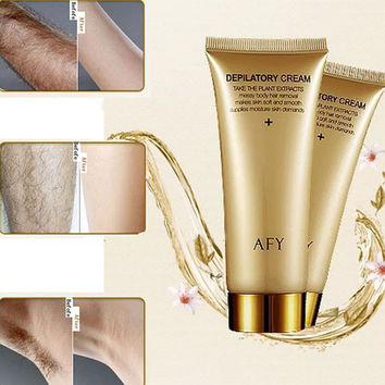 608 Natural Hair Removal Cream for Boby Leg Pubic Hair Armpit Pudendal Epilation Depilatory Paste