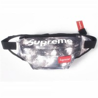 Men's and Women's Supreme Chest Pockets Oxford Casual Riding Bag 038