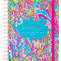 Lilly Pulitzer Large 17 Month Agenda- Scuba to Cuba