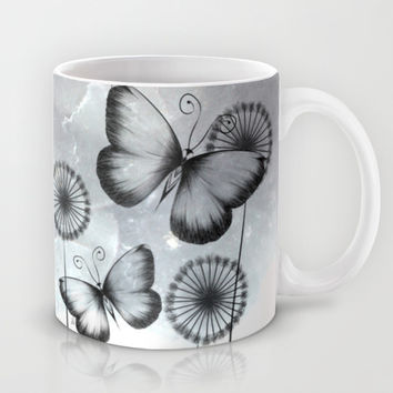 Butterflies Mug by LouJah