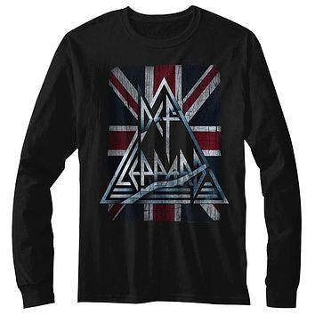 Def Leppard Jacked Up Long Sleeve T-Shirt