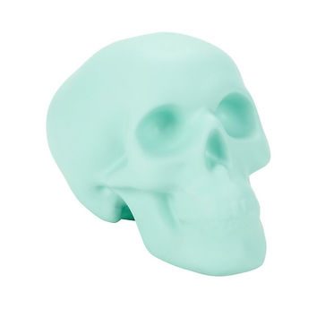 Mint Skull Coin Bank