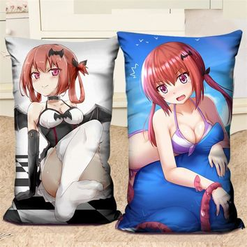 Anime Gabriel DropOut Decorative Pillows Costume Sexy Girl Character Printed Pillow Cartoon Cushions 40x60CM