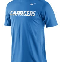 Nike Pro Combat Hypercool Fitted Speed 3 (NFL Chargers) Men's Shirt