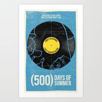 (500) Days of Summer Art Print by Bill Pyle