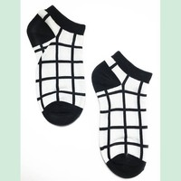 Low-cut Socks|Geo-Square
