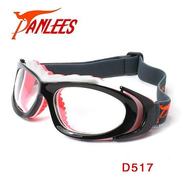 Panlees Ball Sports Dribble Aid Goggles Optical Lens Matched Soccer Spectacle Adults Basketball Goggles with Strap