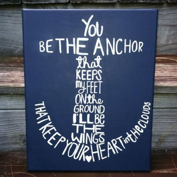 Canvas Painting - Anchor