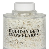 Williams-Sonoma Holiday Decorating Snowflakes