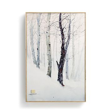 Winter Trees Wall Art