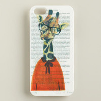 Giraffe Bonjour Paris iPhone 5 Case - World Market