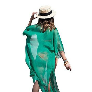Chiffon Swimwear Coverups Bikini Swim Beach Wear Cover Up
