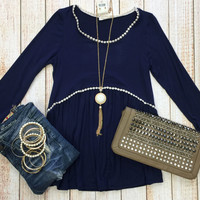 Simple & Sweet Top: Blue