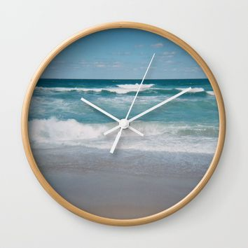 Southern Shores Wall Clock by Horizon Studio