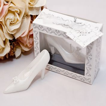 Wedding Romantic Creative Expression Gift Girlfriend Birthday Cake Cinderella Crystal Shoes Birthday Candles Hand-painted Candle