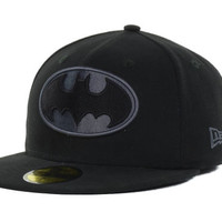 DC Comics Hero Black Gray Basic 59FIFTY Cap