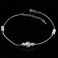 Shiny Jewelry Sexy Cute Gift New Arrival Ladies Stylish Matte Accessory Anklet [8171783047]