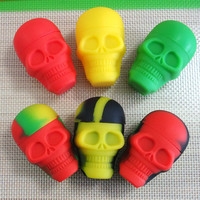 15ml Skeleton Non-Stick Silicone Container