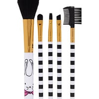 Bunny Graphic Makeup Brush Set