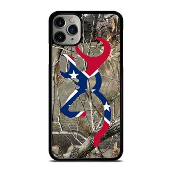CAMO BROWNING REBEL FLAG iPhone Case Cover