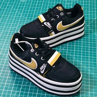 Nike Vandal 2k Black Metallic Gold AO2868-002 Women's Sneakers - Best Online Sale