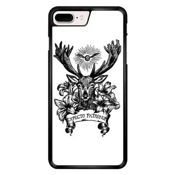 Expecto Patronum Spell Magical Harry Potter White iPhone 7 Plus Case