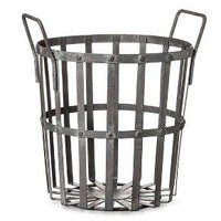 Round Basket- Gray - S - The Industrial Shop™ : Target