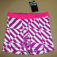 NWT Women's Nike Pro Competition Base Layer Fitted Compression Shorts Small