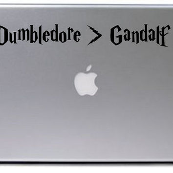 Harry Potter Decal / Macbook Decal / Laptop Decal / Laptop Sticker / Macbook Sticker / Harry Potter