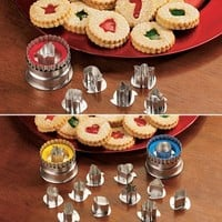 Linzer Cookie Cutter Set - Fresh Finds - Cooking > Dessert