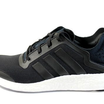 Adidas Women's Pure-Boost Black/White Running Shoes M22136