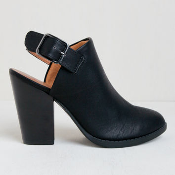 Against The Grain Ankle Booties