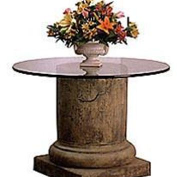Medieval Pillar Column Dining Table Base 29.5H