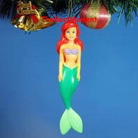 *N106 Decoration Ornament Party Xmas Tree Home Decor Toy Model Disney Mermaid Beauty Ariel (Original from TheBestMoment @ Amazon)
