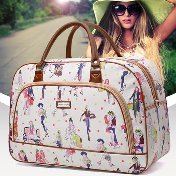 Women Travel Bags Large Capacity Duffle Luggage Bag Casual Tote  Waterproof Female Handbags Brand Bolsas Feminina