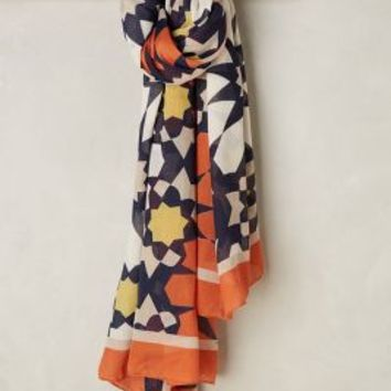 Riviera Scarf by Anthropologie in Orange Size: One Size Scarves