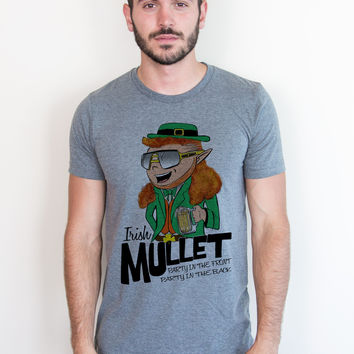 Irish Mullet: Party in the Front, Party in the Back Tee
