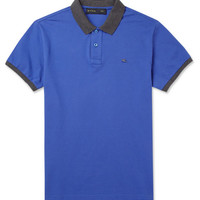Etro Cotton-Piqué Polo Shirt | MR PORTER