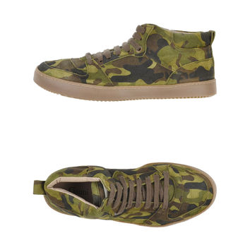 GANNI Camouflage High-tops Sneakers