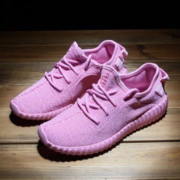 Light Pink Womens Sports Running Shoes