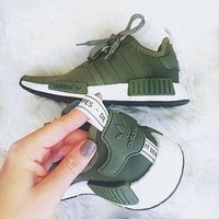 DCCK Adidas' NMD Women Fashion Trending Running Sports Shoes Sneakers